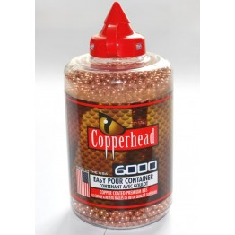 Шарики для пневматических пистолетов Crosman Copperhead 6000